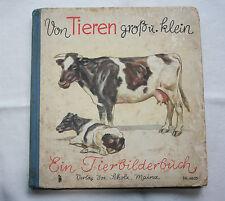 Von Tieren groß und klein - ein Tierbilderbuch - 1937 Mainz (0025) !!!