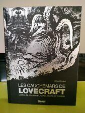 LES CAUCHEMARS DE LOVECRAFT APPEL DE CTHULHU EDITIONS GLÉNAT NOIR ET BLANC NEUF