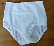 Vintage St Michael Med/Lge Panty Girdle firm control knickers panties White
