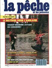 Revue  La pêche et les poissons No 524 Janvier  89