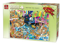 1000 Piece Funny Comic Cartoon Capers Jigsaw Puzzle - BOSTON TEA PARTY 05222