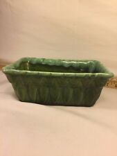 Vintage Green Ceramic Planter made by Judy USA D-6