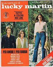 fotoromanzo LE AVVENTURE DI LUCKY MARTIN ANNO 1978 NUMERO 112 SADLOW DE ANGELIS