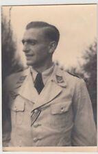 (F16994) Orig. Foto Porträt Oberleutnant Moser, Insterburg 1944