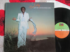 Ben E. King ‎– Let Me Live In Your Life Atlantic ‎– K 50527 UK Vinyl LP Album