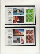 GB 1992 MACHIN BOOKLET PANES FROM CYMRU - WALES BOOKLET  DX13 UMM