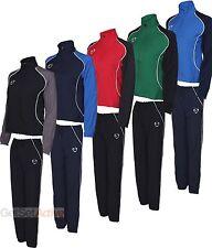 Nike Womens Ladies Girls Black Navy Red Green Blue Woven Football Full Tracksuit