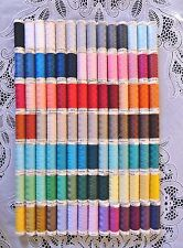 98 NEW Different colors GUTERMANN 100% polyester sew-all thread 110 yard spools