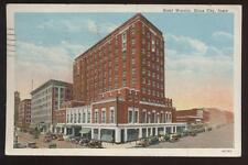 Postcard SIOUX CITY IA Hotel Warrior View 1920's