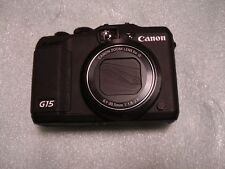 LikeNew Canon Powershot Canon G15 12MP Digital Camera