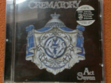 CD--Crematory--Act Seven---Top---Rare
