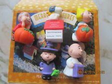 1996 Hallmark Collectibles Peanuts Pumpkin Patch Merry Miniatures 5 Piece Set