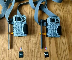 SPYPOINT LINK-MICRO-LTE-V Cellular Trail Camera (lot of 2)