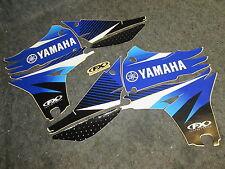 Yamaha YZF450 2010-2013 Fabbrica FX EVO blu/nero/bianco kit grafica GR1168