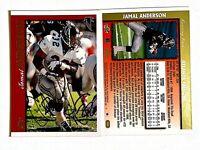 Jamal Anderson Signed 1997 Topps #141 Card Atlanta Falcons Auto Autograph