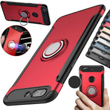 Shockproof Hybrid Armor Case With Magnetic Finger Ring Car Holder For Oneplus 5T