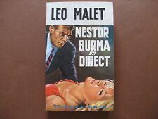 NESTOR BURMA EN DIRECT