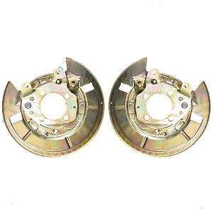 2x Toyota Corolla Verso brake disc shield dust cover anchor plate set 0F010