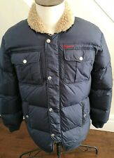 Dsquared Puffer 100% Authentic / NAVY  Men's RARE Down .COAT  Jacket / Size '48'