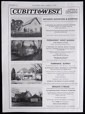 SALE OF VANN BRIDGE COTTAGE FERNHURST VILLAGE WEST SUSSEX MAGAZINE ADVERT 1979