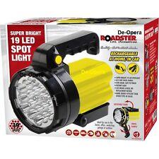 19 DEL Torche Rechargeable Spotlight sécurité Torche Lanterne Work Light Power