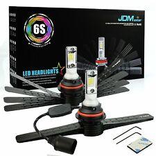 JDM ASTAR 6S 8000LM 9007/HB5 LED Headlight High Low Dual Beam Bulbs White 6000K