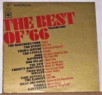 The Best Of 66 Volume One - Bob Dylan - Byrds - LP Record Album Excellent Vinyl