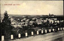 Jablonné nad Orlicí Tschechien Česká 1910 Panorama Gesamtansicht Kirche Häuser