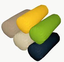 Bolster Cover*A-Grade Cotton Canvas Neck Roll Tube Yoga Massage Pillow Case*La1