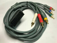 SCART to RGBs SYNC cable adapter Female for SONY monitor EUR SEGA PC ENGINE RGB