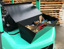 More details for forklift tool storage box chest van tractor trust mountable trunk transport unit
