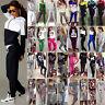 2Pcs Women's Tracksuit Hoodie Sweatshirt Tops Pants Set Casual Sports Sweat Suit