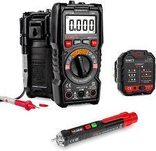Ht113b Digital Multimeter Amp Non Contact Voltage Tester Ampelectrical Outlet Tester