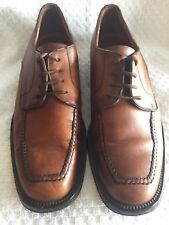 MENS COLE HAAN OXFORD BROWN LEATHER SHOES - SIZE 7 M