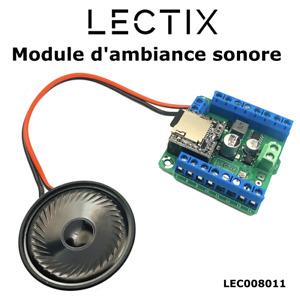 Module sonore - 14 sons personnalisables / animations modélisme train HO N