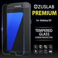 Galaxy S7 Genuine Zuslab Premium Tempered Glass 9H Screen Protector For Samsung
