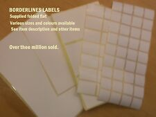 LARGE PLAIN WHITE ADDRESS LABELS X (pack of 42) 140 X 90mm