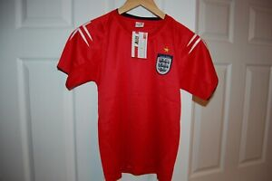 Kids Youth Size (M) England Soccer Jersey NWT