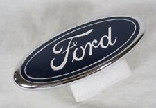 FORD GRILLE EMBLEM NEW GENUINE OEM BLUE OVAL FRONT GRILL BADGE sign symbol logo