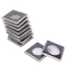 1pc Plastic Coin Holder Coin Case Storage Capsule Black Hot Sale 40.5MM SEAU