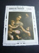 paraguay  stamp old   timbre
