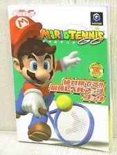 MARIO TENNIS GC Guide Game Cube Book MW73*