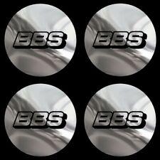 4 adhésifs chrome BBS 40 mm à 74 mm pour centre jantes VW MERCEDES AUDI BMW