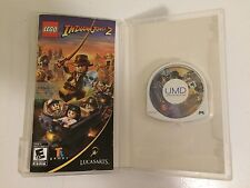 LEGO Indiana Jones 2 Adventure Continues - The - Sony PSP - COMPLETE