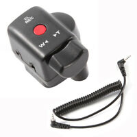 Camcorder Zoom Remote Control 2.5mm Jack Cable For Canon Sony Lanc Video Cameras
