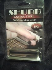 Shubb SP2 Guitar Steel Slide SOLID STAINLESS STEEL new NIB free shipping