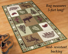 Northwoods Woodland Trails Rug, by Collections Etc
