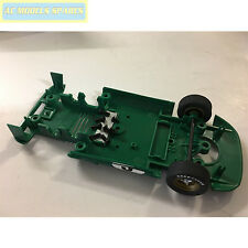 W9964 Scalextric Spare Underpan Assembly & Front Wheels Ferrari P4