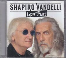 SHAPIRO / VANDELLI - love and peace CD
