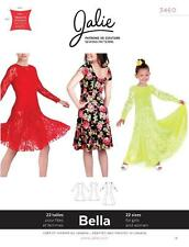 Jalie Bella Scoop Neck Dancing Fit and Flare Dress Costume Sewing Pattern 3460